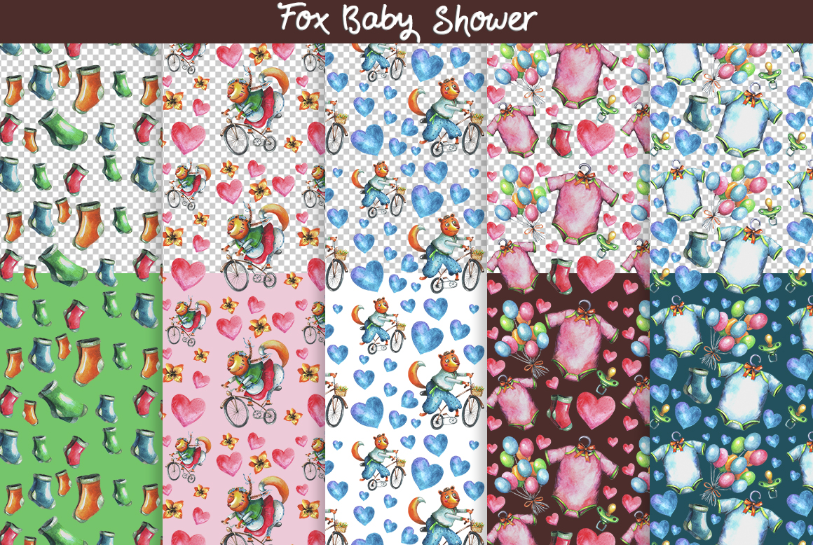Fox Baby Shower example image 5
