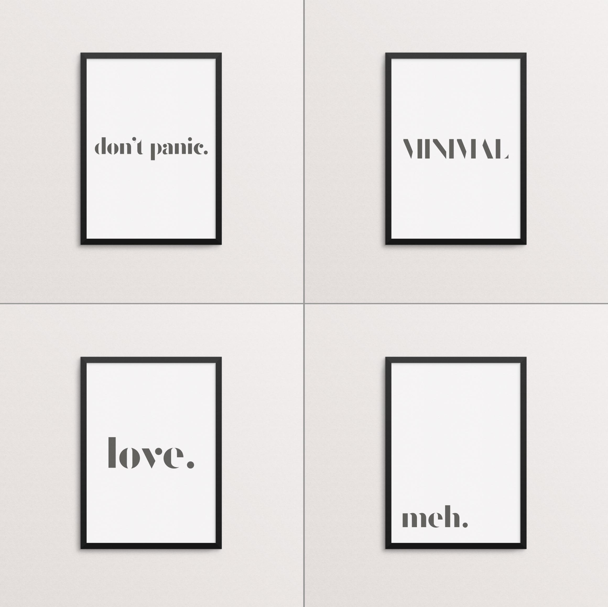 Catalogue - A Minimal Typeface example image 5
