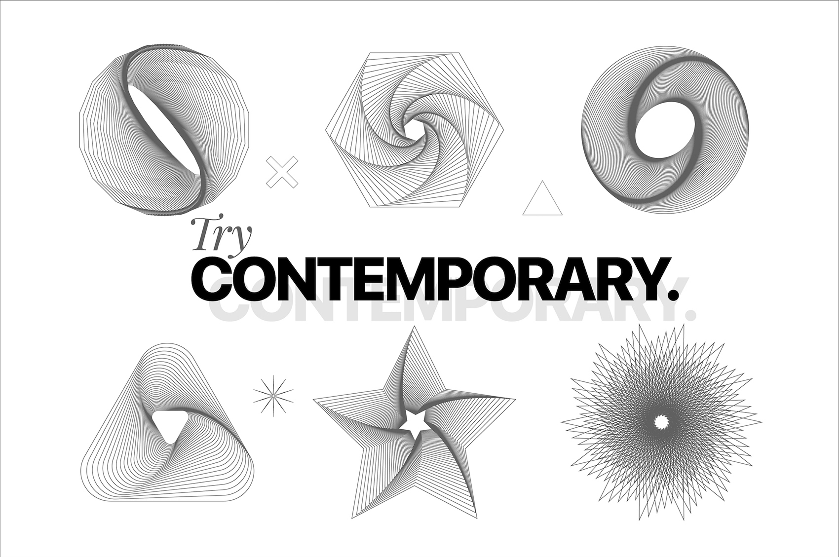 Try Contemporary - Geometric Covers example image 10