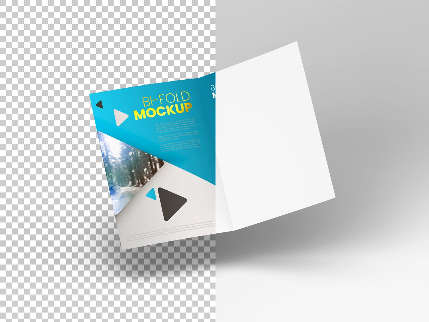 A4 Bifold Mockups V2 example image 9