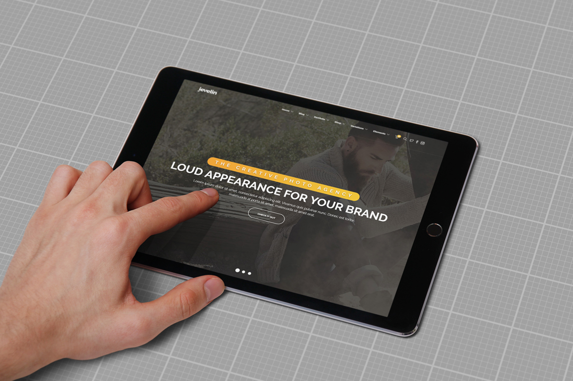 iPad Air Studio Mockups example image 9