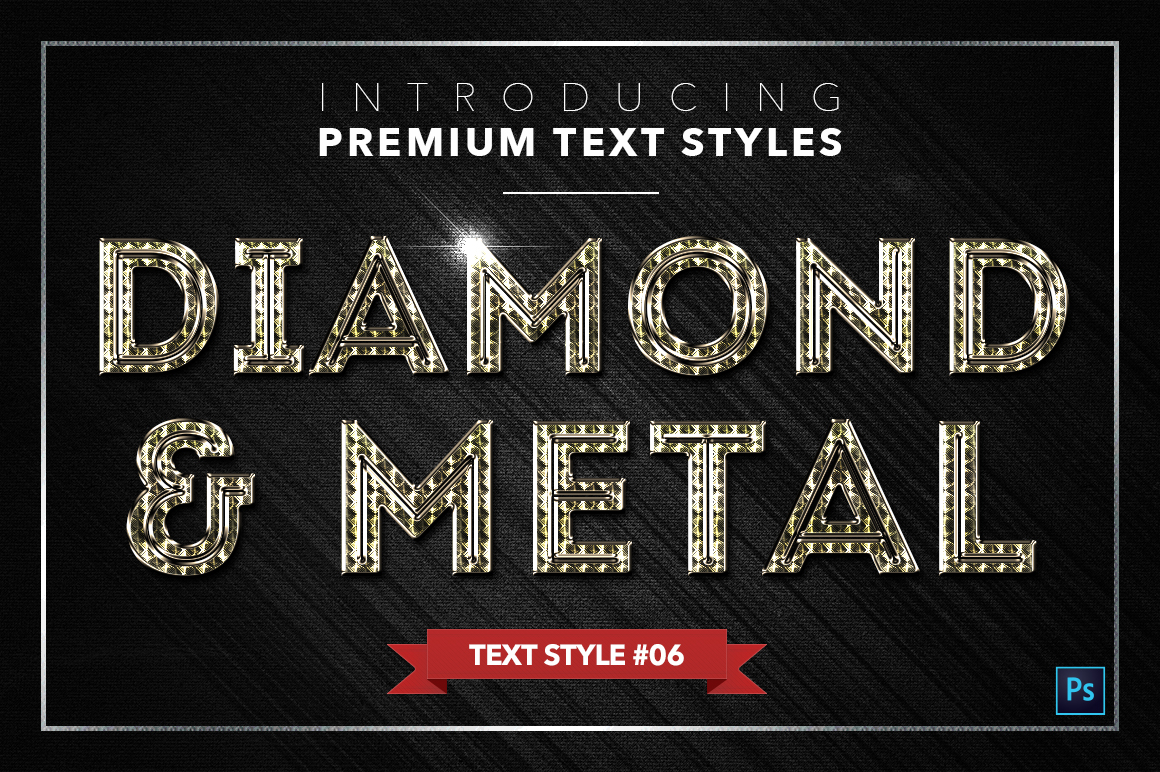 Diamond & Metal #2 - 16 Text Styles example image 7