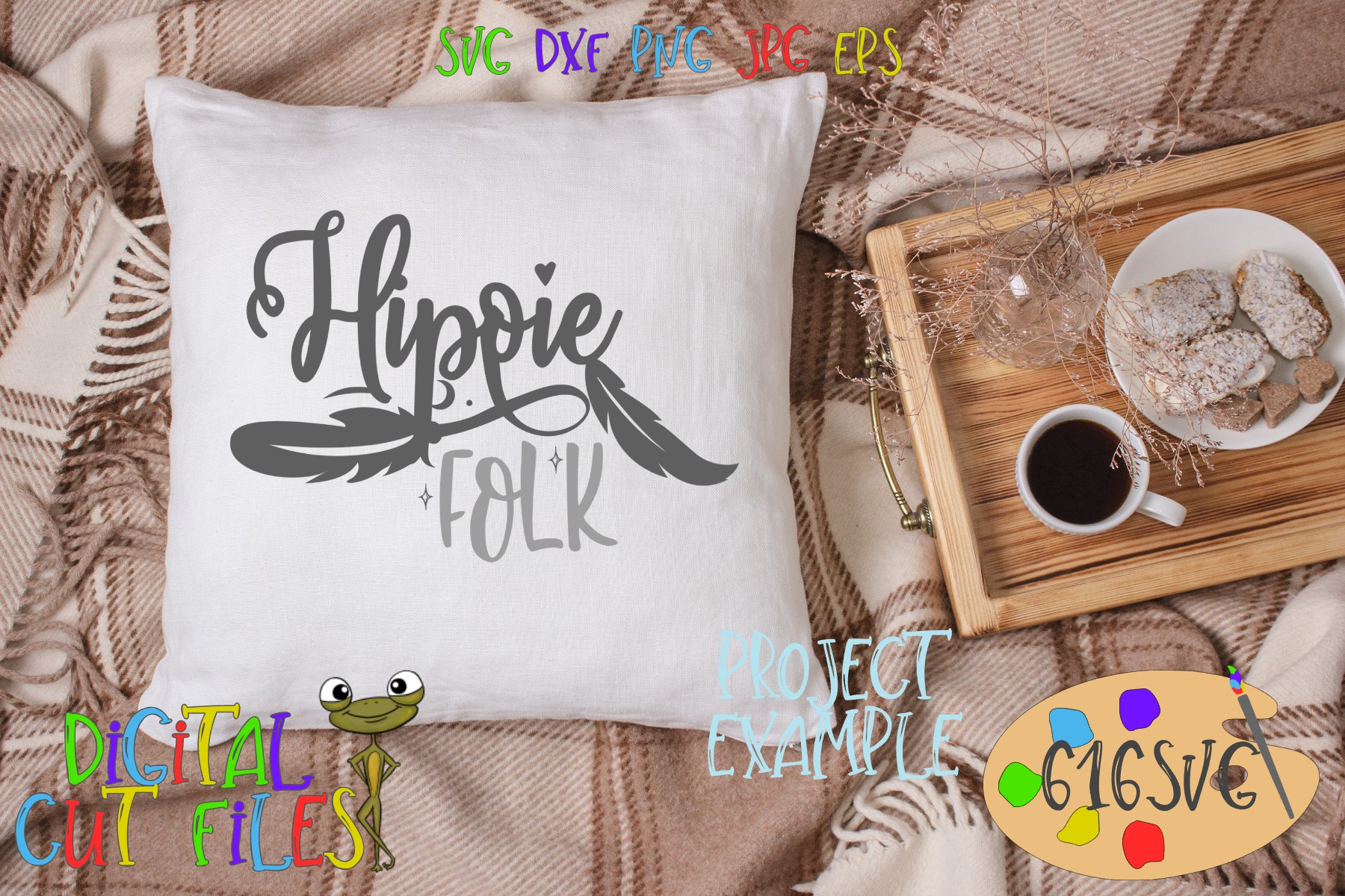 Hippie Mini Bundle SVG example image 4