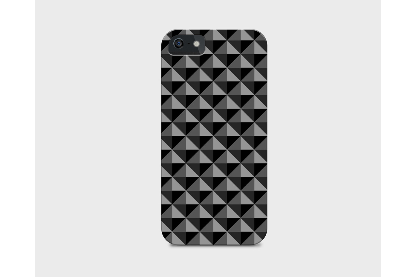 Dark seamless geometric textures example image 10