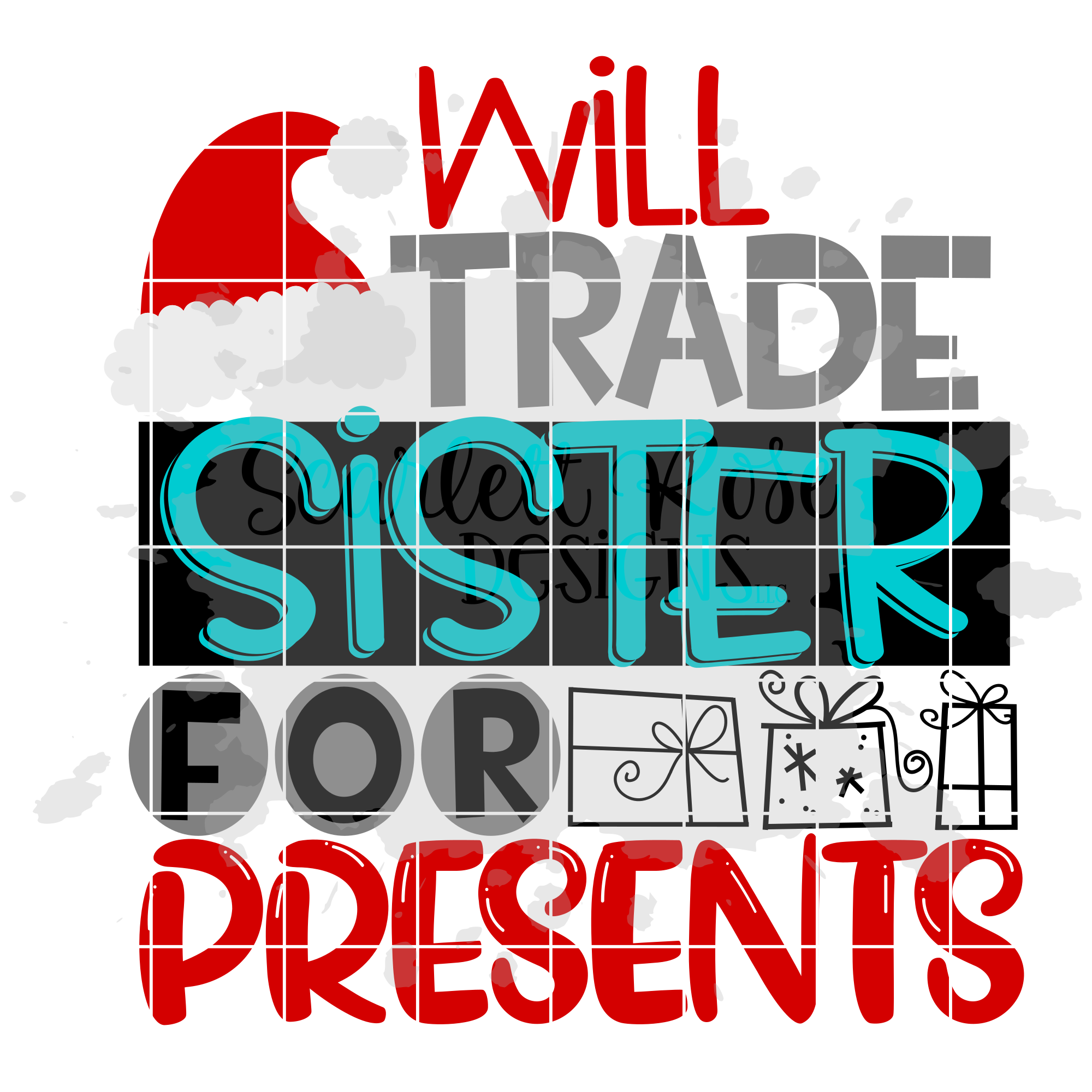 Will Trade Sister for Presents SVG - Christmas SVG example image 2