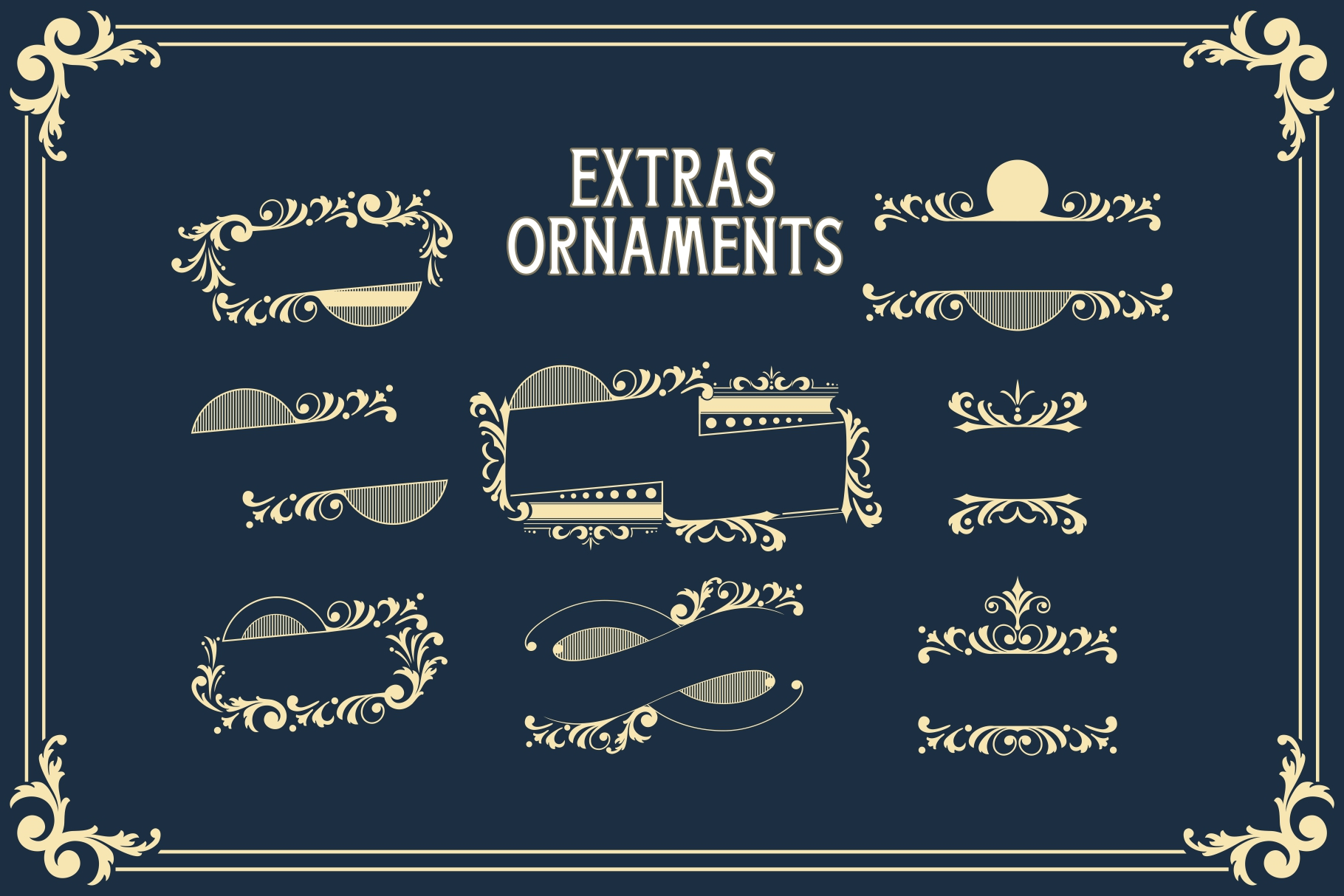 Boatman Font 3 Styles Extras example image 9