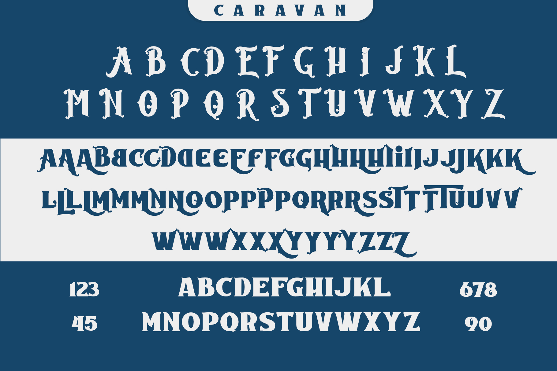 Caravan - Display Font example image 4