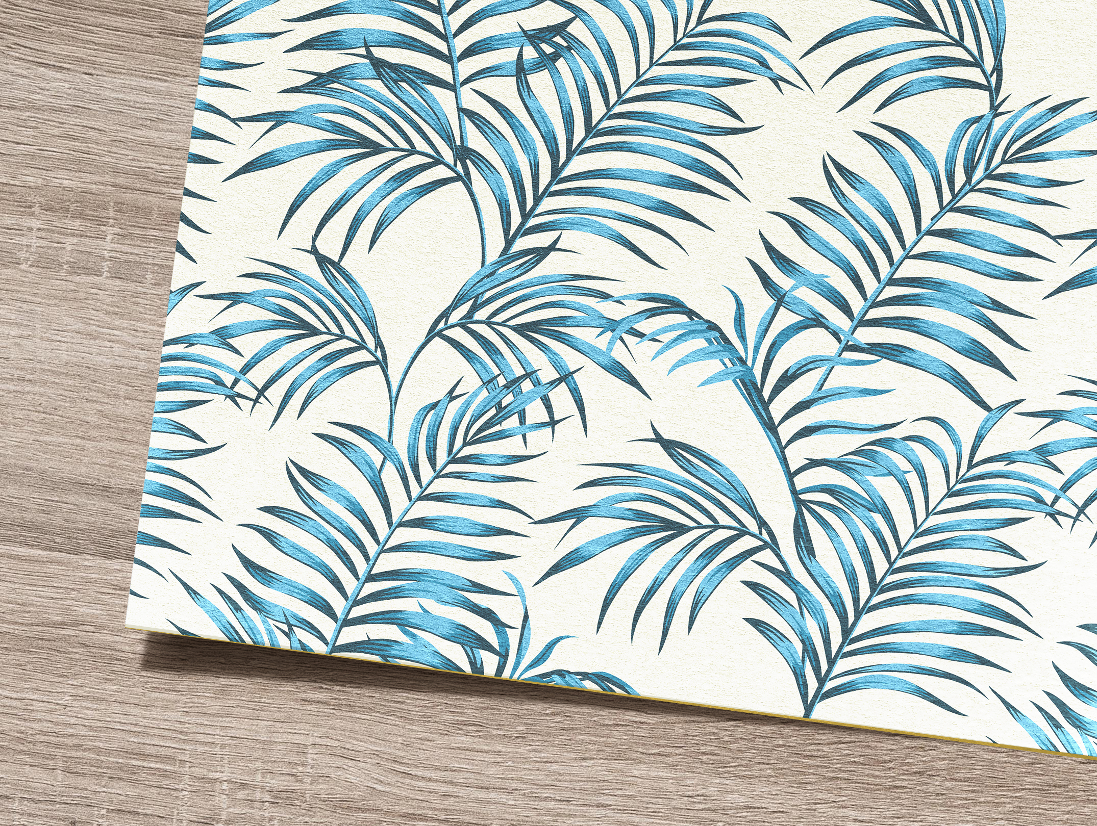 Tropical flowers and leaves pattern. Seamless design. example image 2