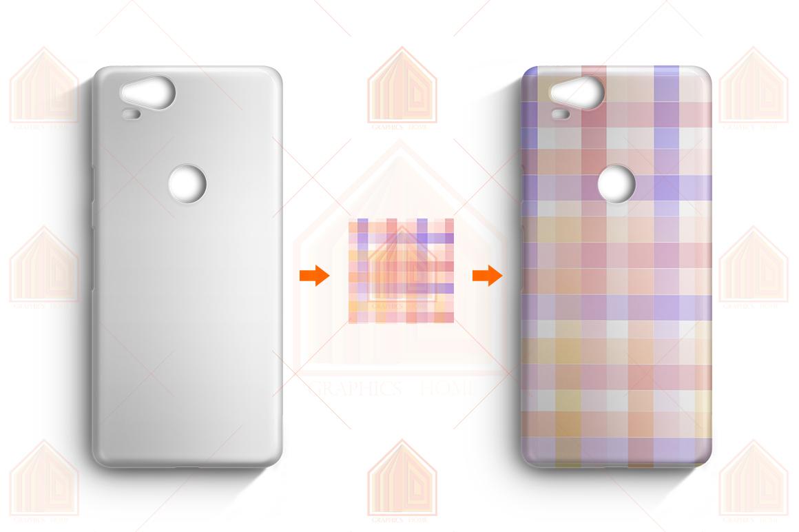 Google Pixel 2 3D Case Design Mockup Back View example image 4