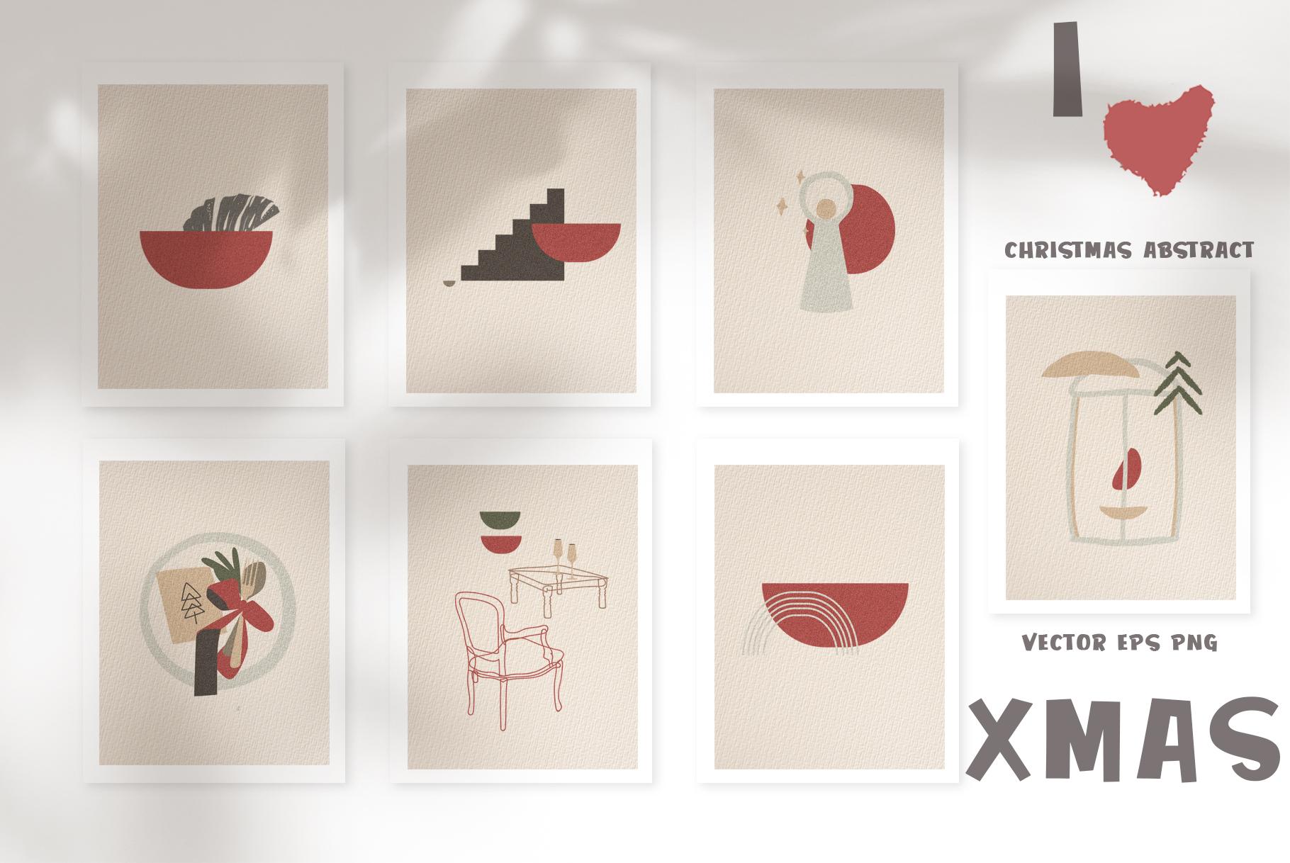 Christmas Secret Modern Graphic Set example image 3