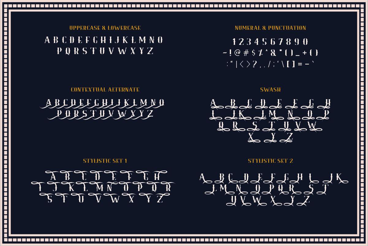 Royale Kingdom ~ Vintage Typeface example image 8