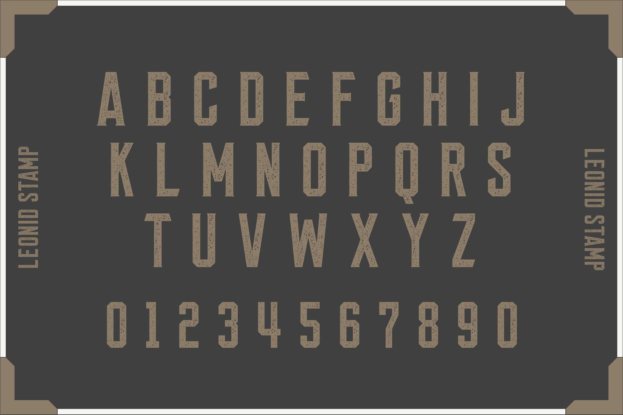 Leonid Retro Layered Font Pack example image 4