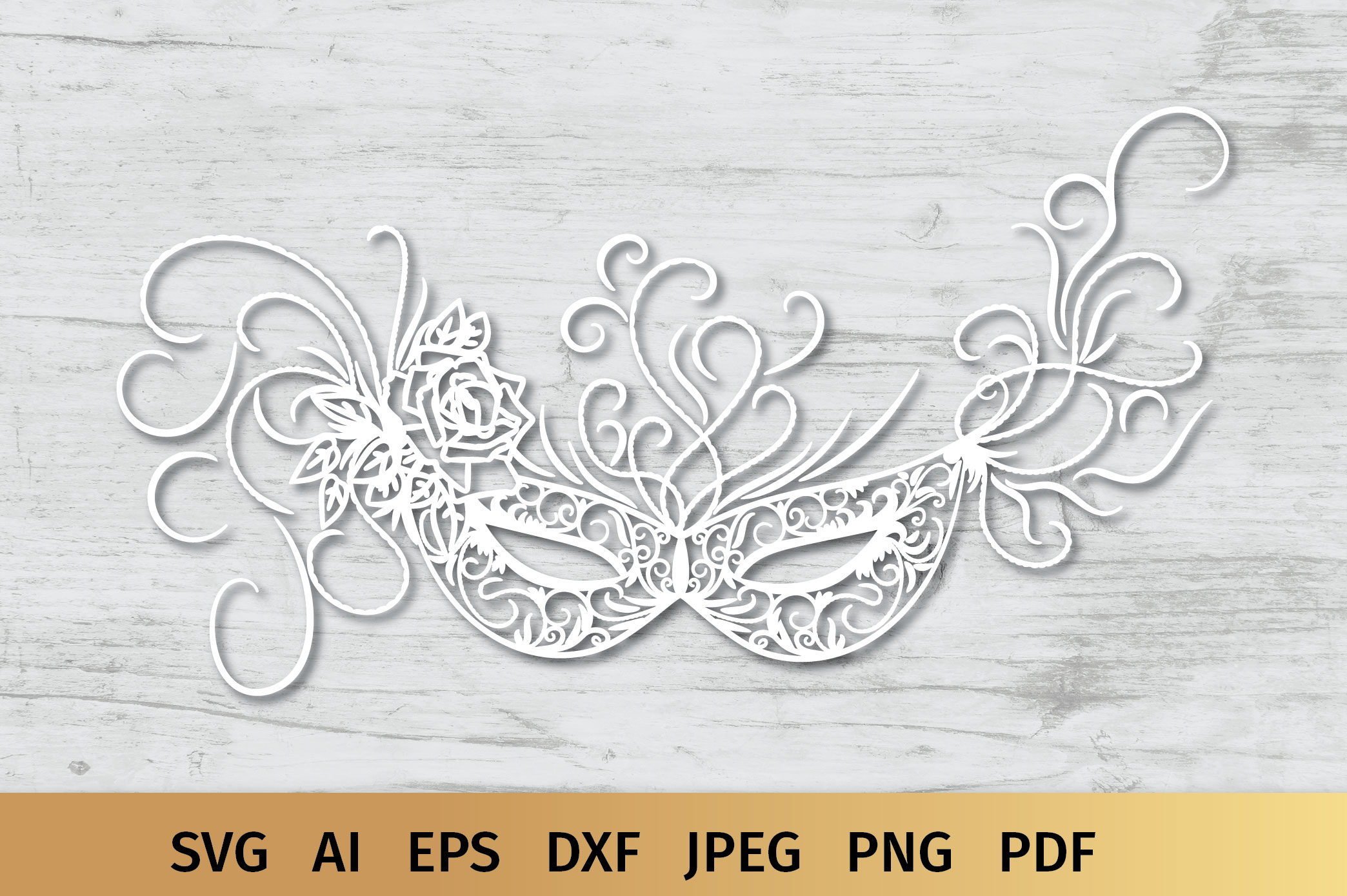 Carnival Mask svg example image 4