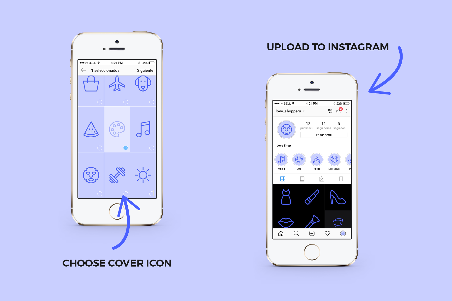 60 Instagram Stories Covers example image 2
