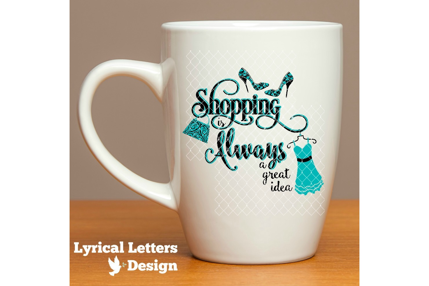 Shopping is Always a Great Idea SVG Cut File LL096F example image 2