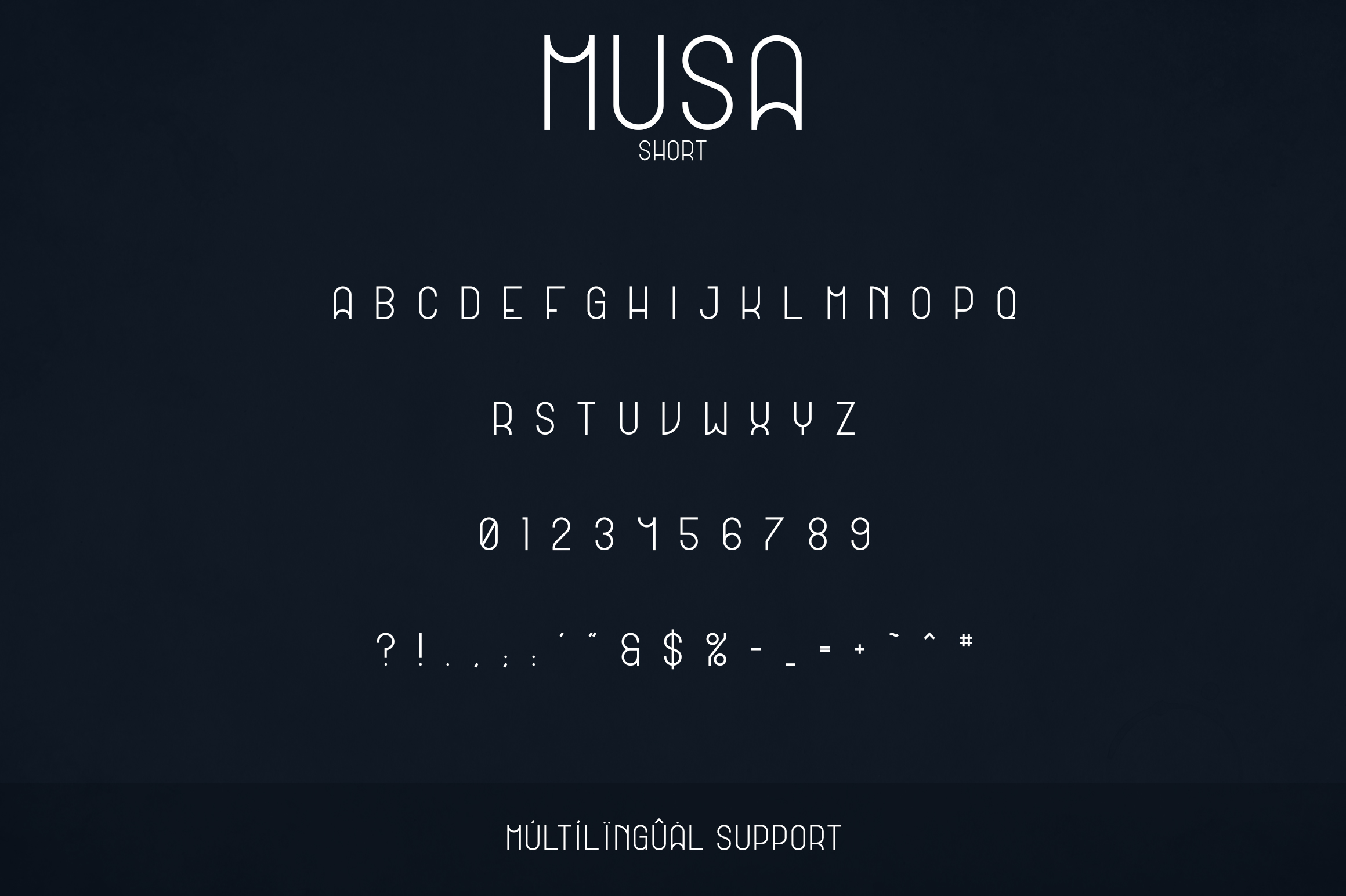 Musa Display Typeface - 12 fonts example image 8