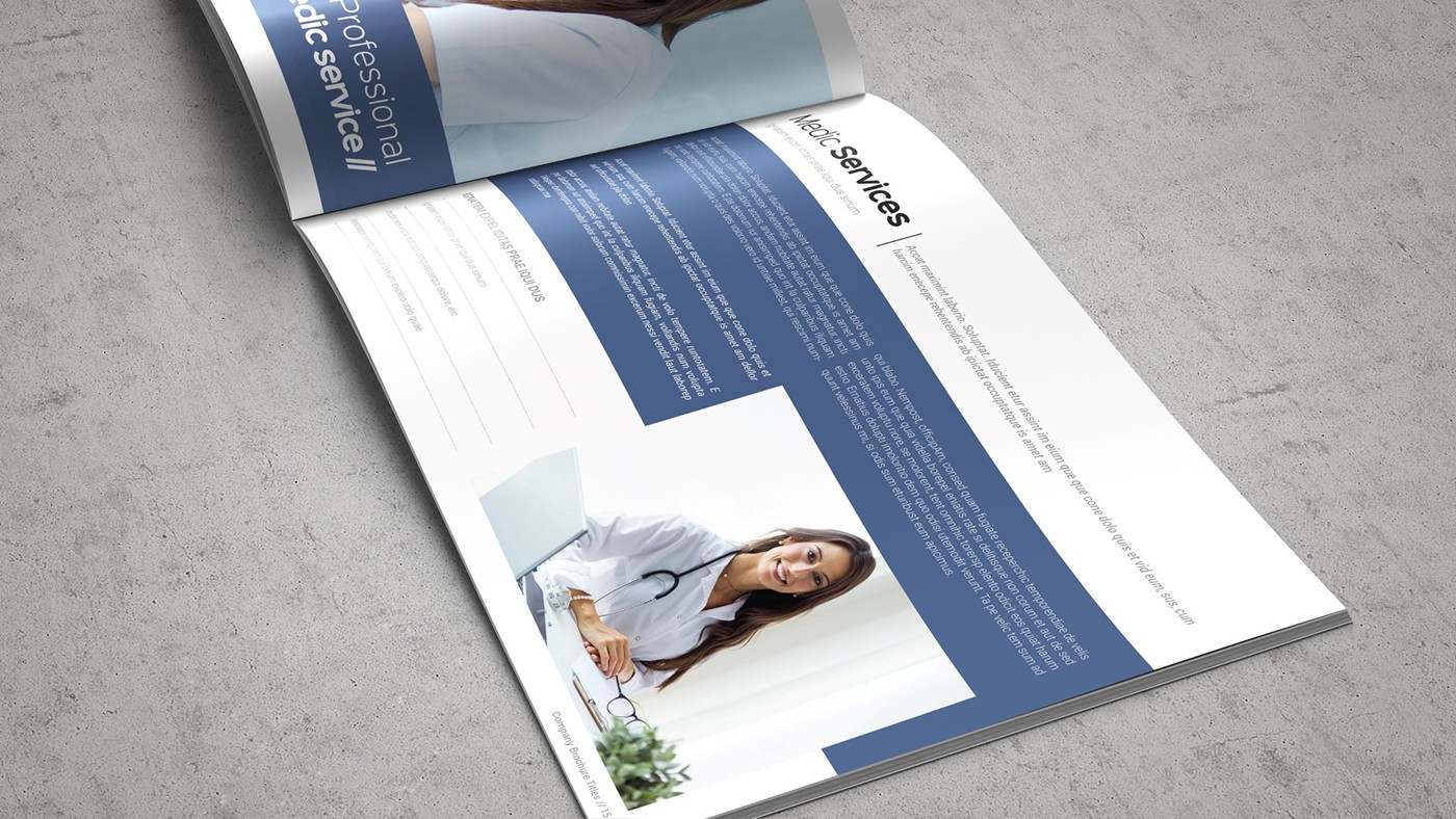Health & Care Brochure Template example image 8