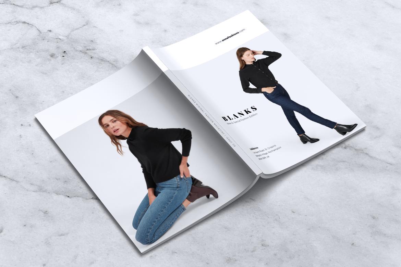 BLANKS   Minimal Lookbook/Magazines example image 8