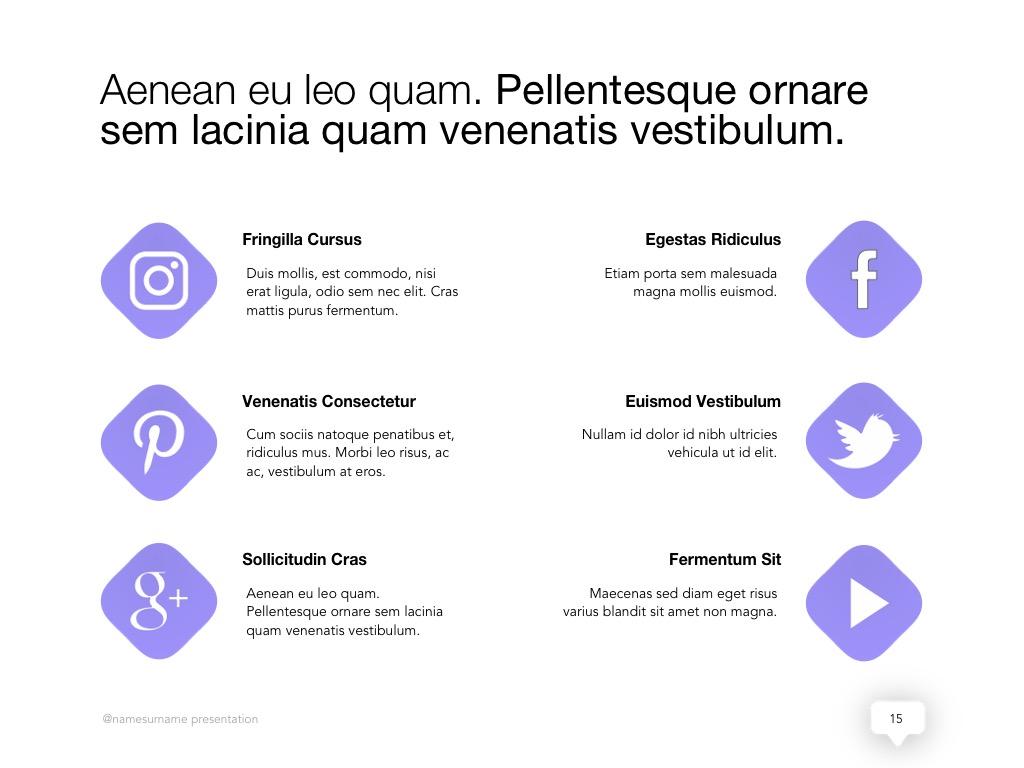 Influencer Marketing Google Slides Template example image 16