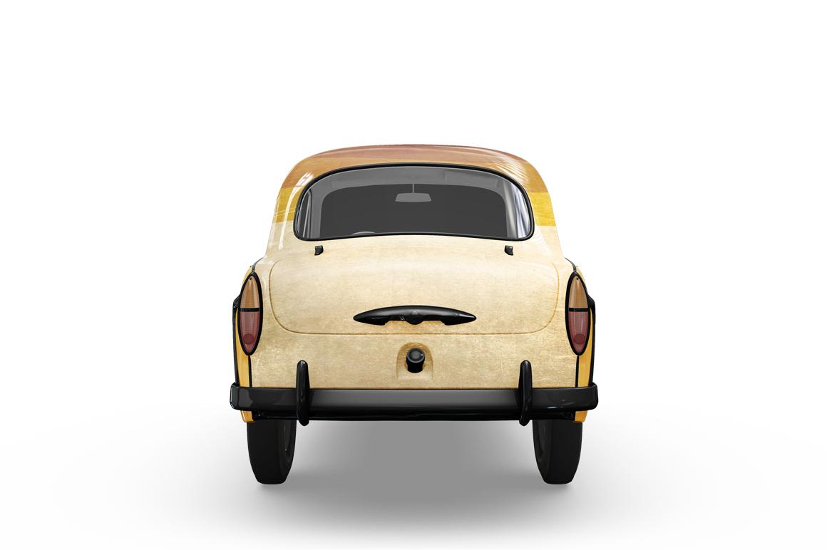 Vintage Car Mockup example image 3