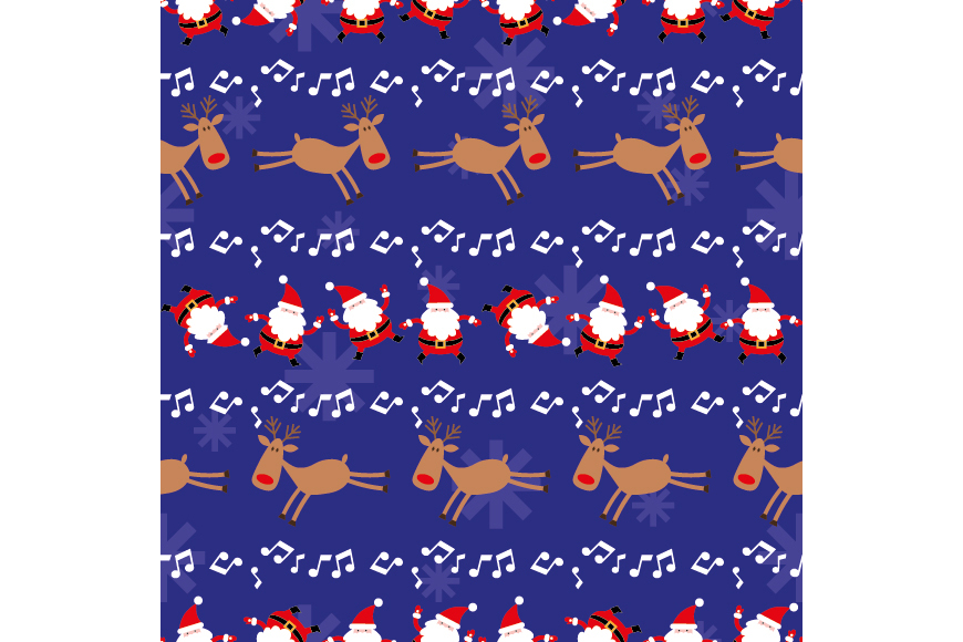 Christmas Patterns Collection. 12 of the jpeg files in resolution 4167*4167 px and 12 files eps8. example image 15