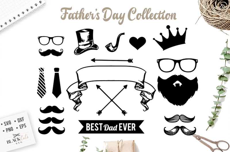 Father's day collection svg example image 1
