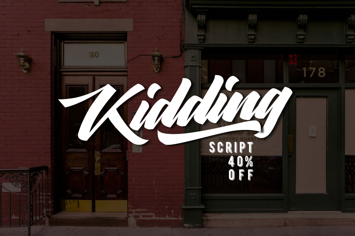 Kidding Script example image 1