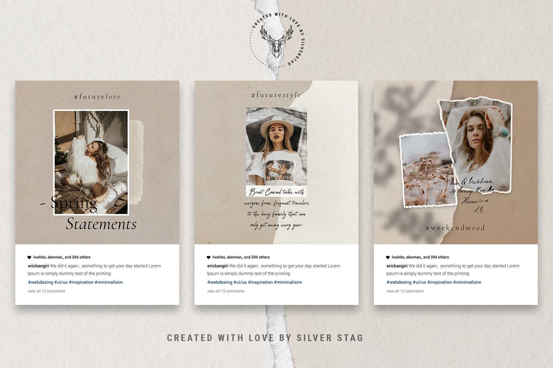 #InstaBabe Instagram Post Templates example image 16