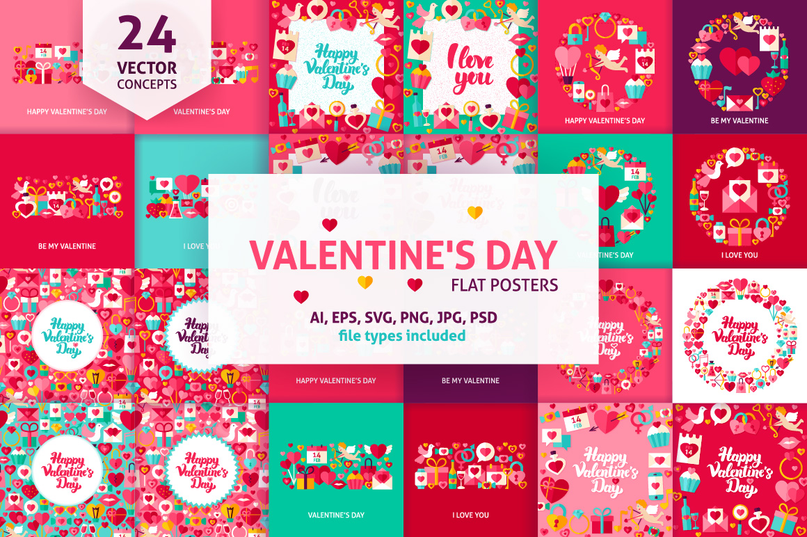 Happy Valentine's Day Concepts example image 1