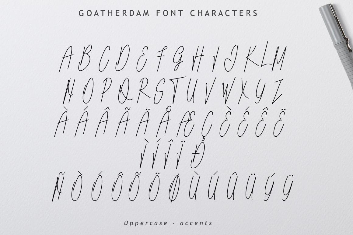 Goatherdam Font example image 9