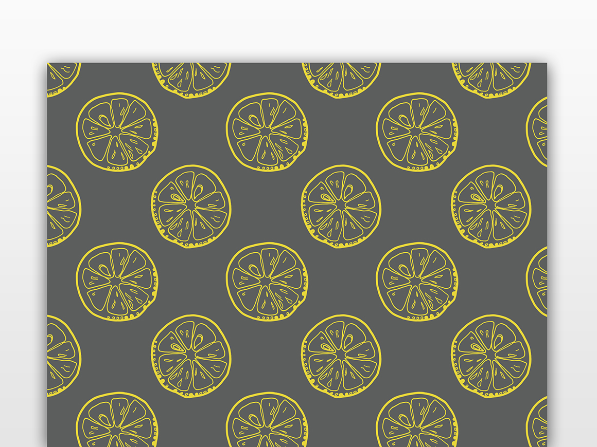 Lemons collection (158 vector and raster files) : 4 Patterns, 4 clipart Alphabets (144 png, 4 eps). example image 9