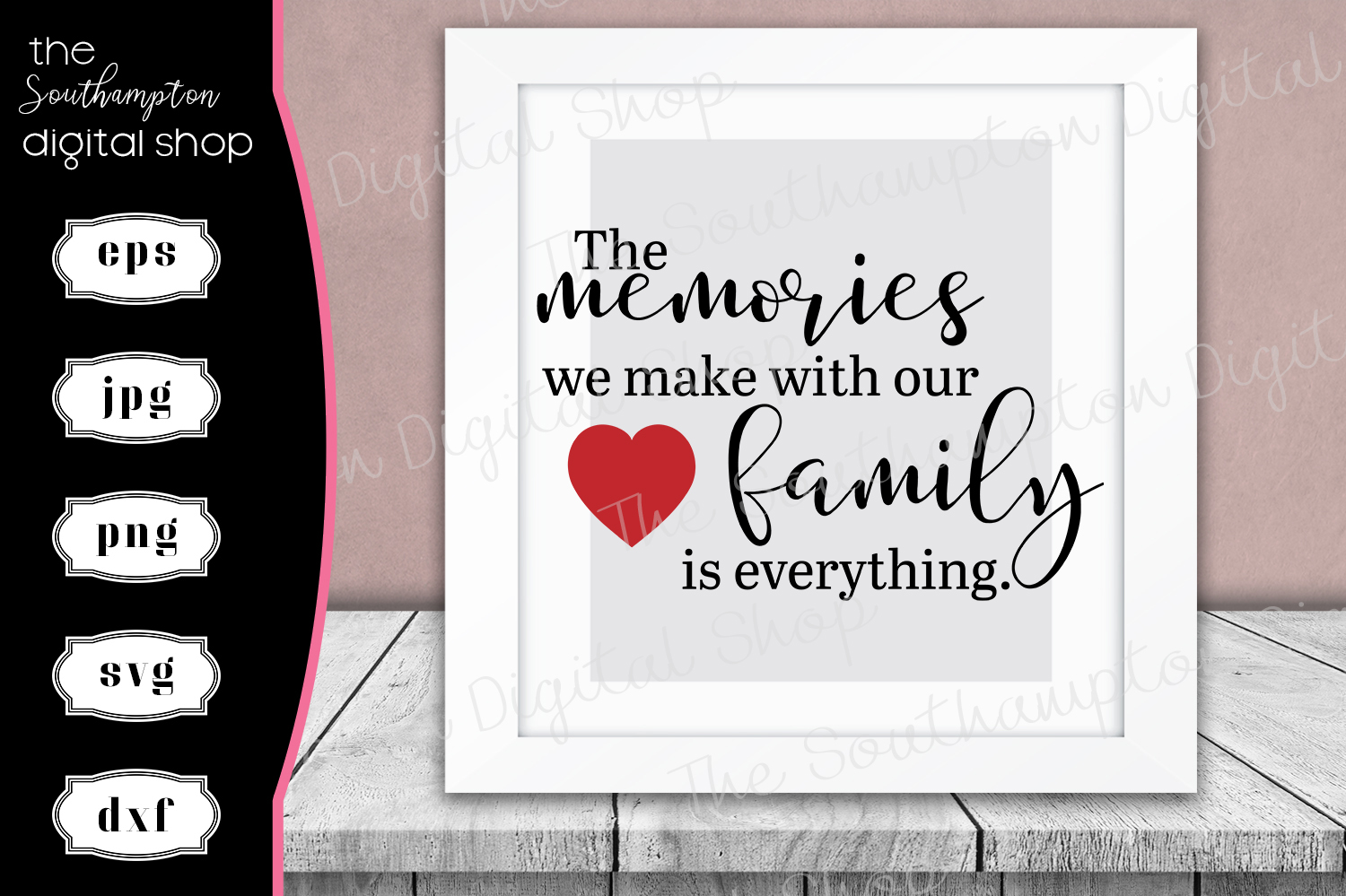 Beautiful Family Memory Quote example image 1