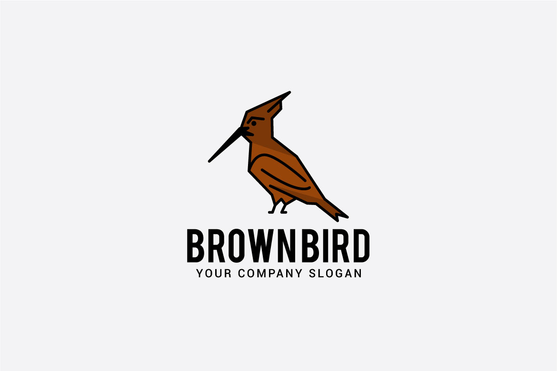 brown bird logo example image 2