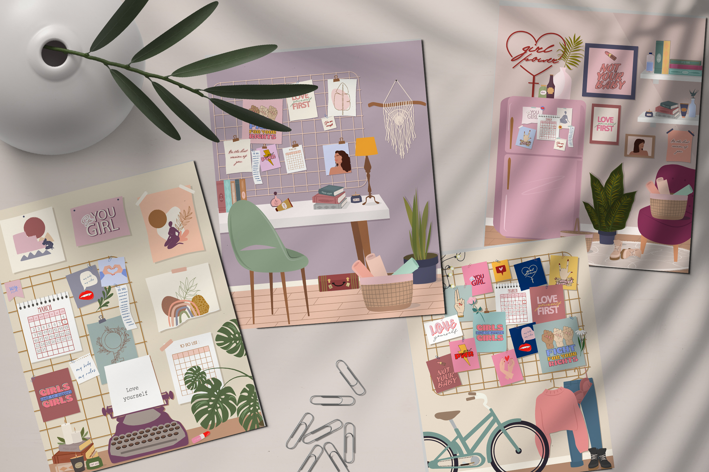Lifestyle interior & mood board example image 9