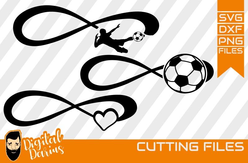 3x Ball Svg, Hobby dxf, Football svg, Love sport svg, Soccer example image 1