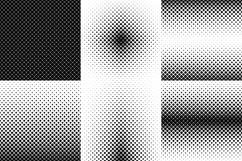 24 Square Patterns AI, EPS, JPG 5000x5000 example image 5