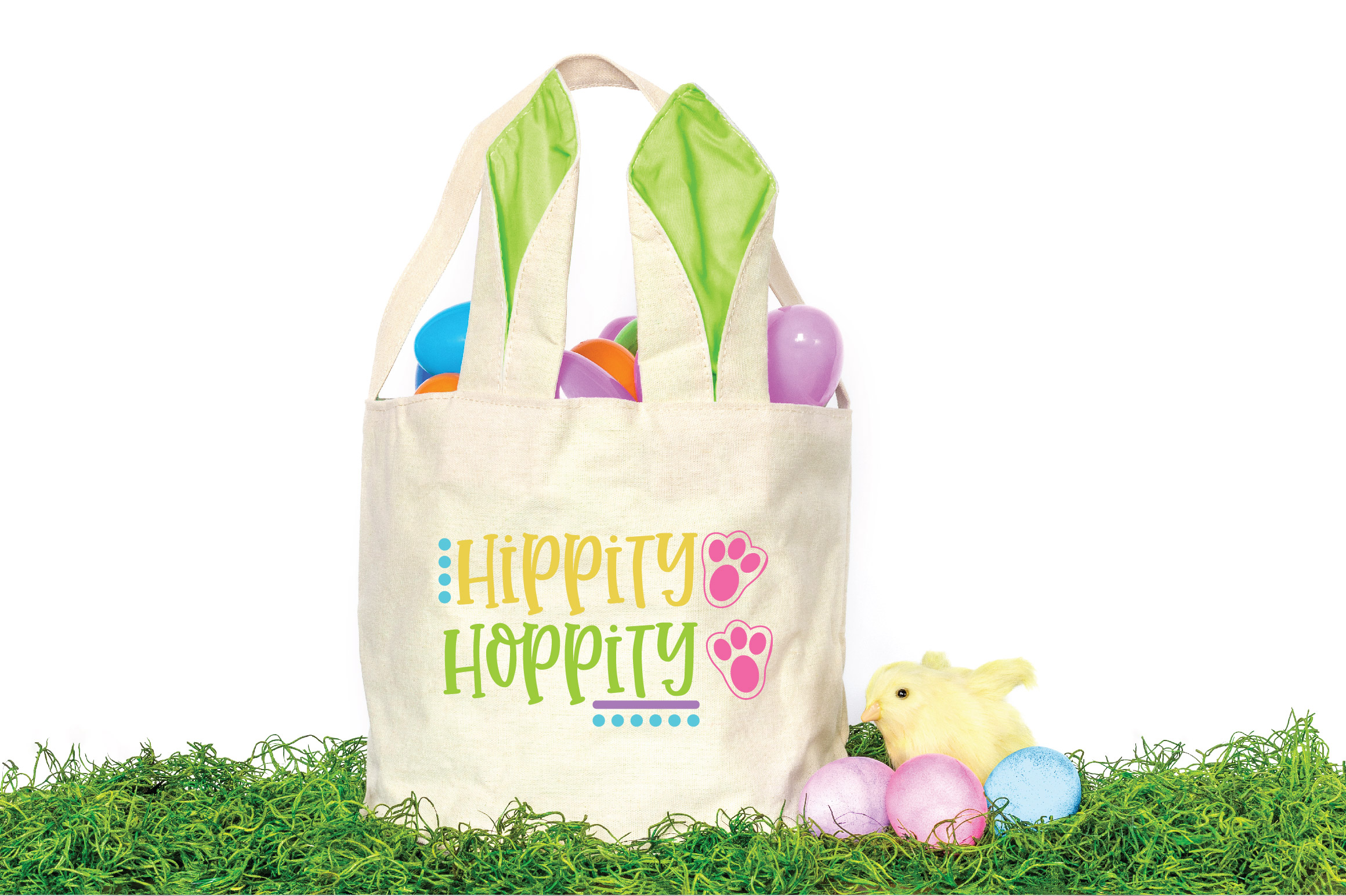 Easter SVG Cut File - Hippity Hoppity SVG DXF EPS PNG JPG AI example image 2