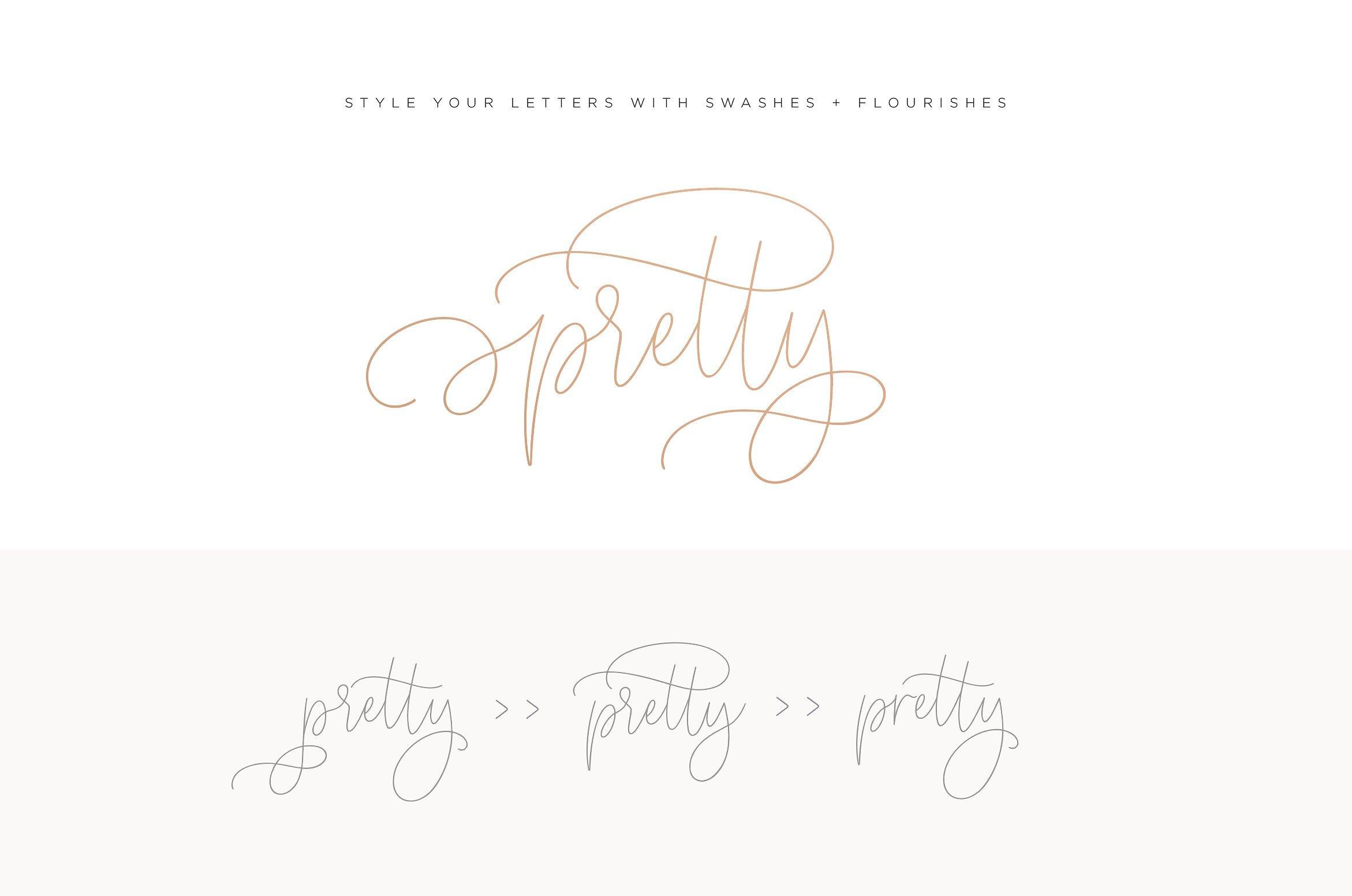 Somersette Script Font example image 6