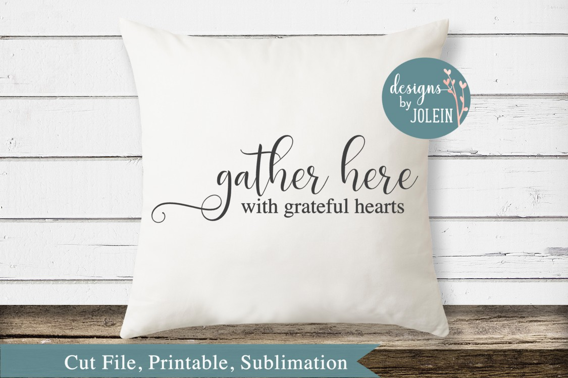 Gather Here SVG, png, eps, sublimation, printable example image 2