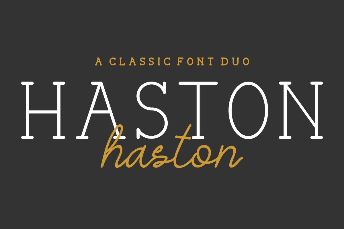 HASTON example image 1