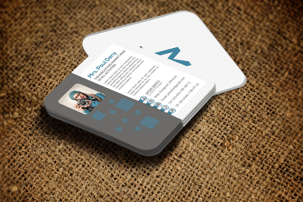 Mini Social Media Business Card example image 2