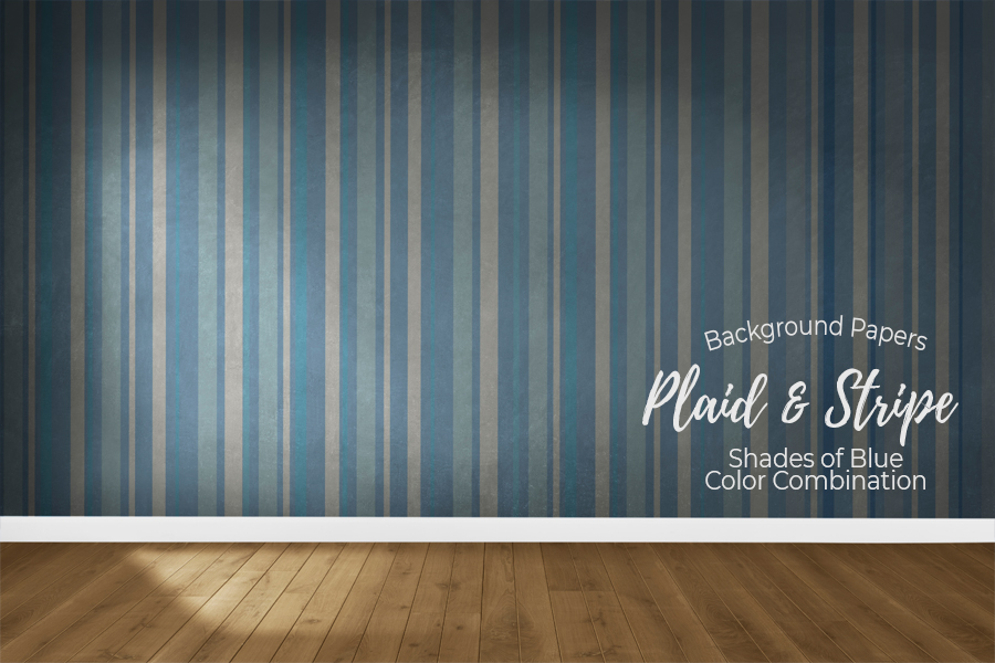 54 Plaid,Stripe & Dots on Blue Shades JPG Background Papers example image 7