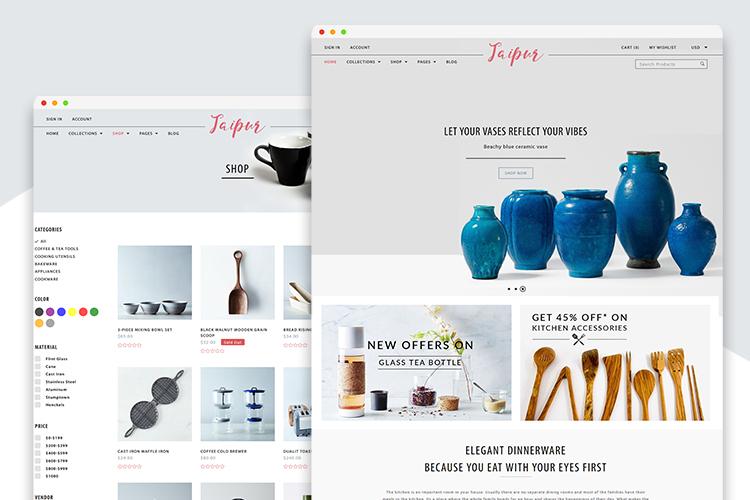 Jaipur Shopify Theme example image 1