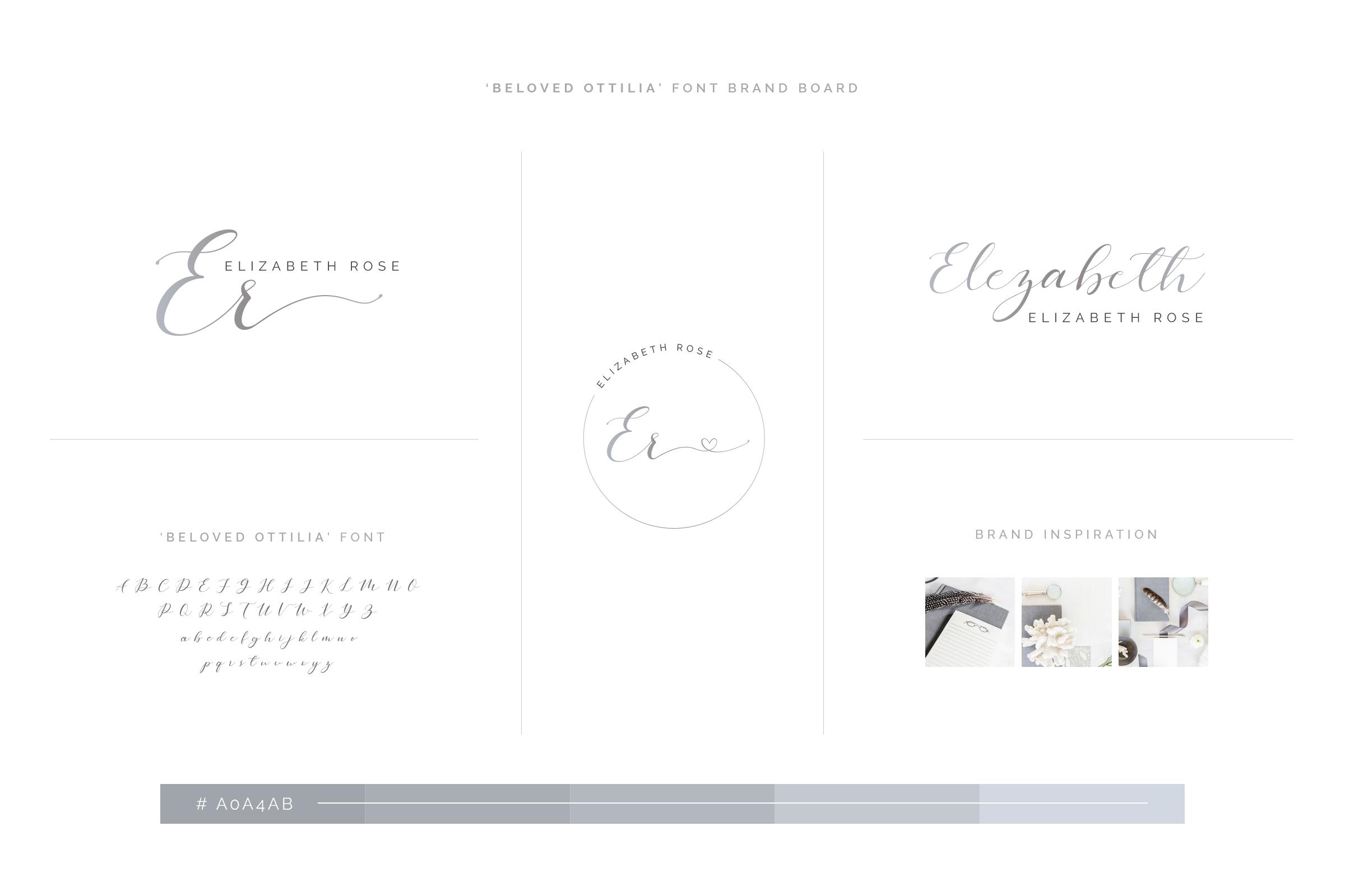 Beloved Ottilia Font 60 Free Logos example image 22