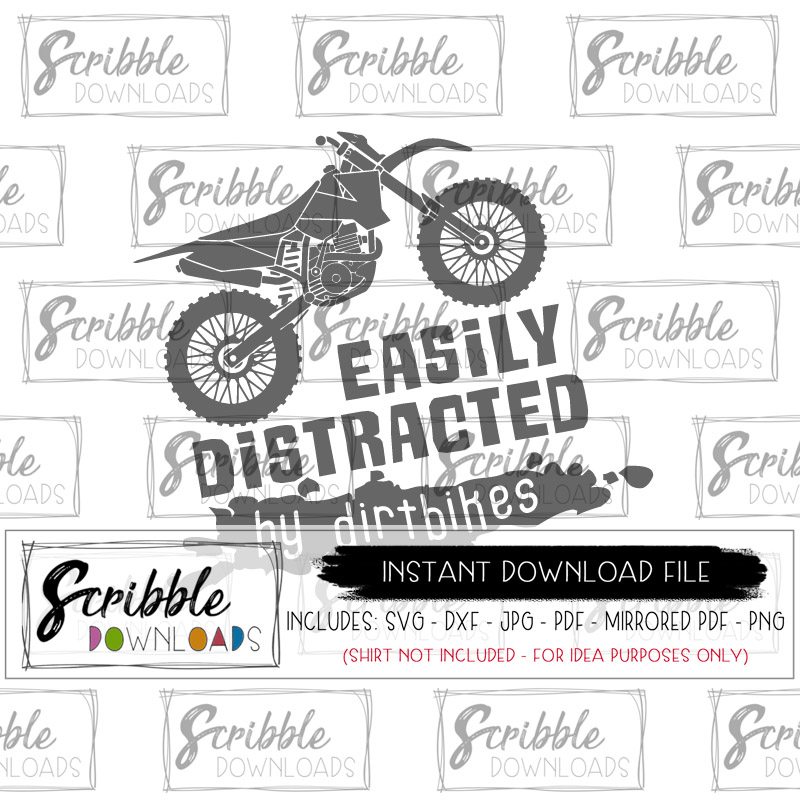 Easily Distracted by Dirtbikes example image 2