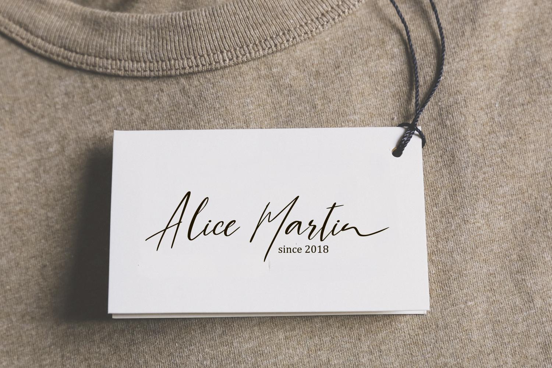 Lila & Harley. Signature font example image 2