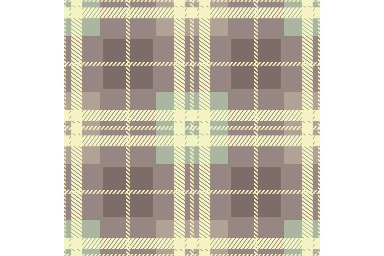Tartan texture. Set of 10 seamless patterns. example image 4