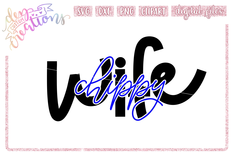 Law Enforcement Wife Thin Blue Line SVG Bundle example image 7