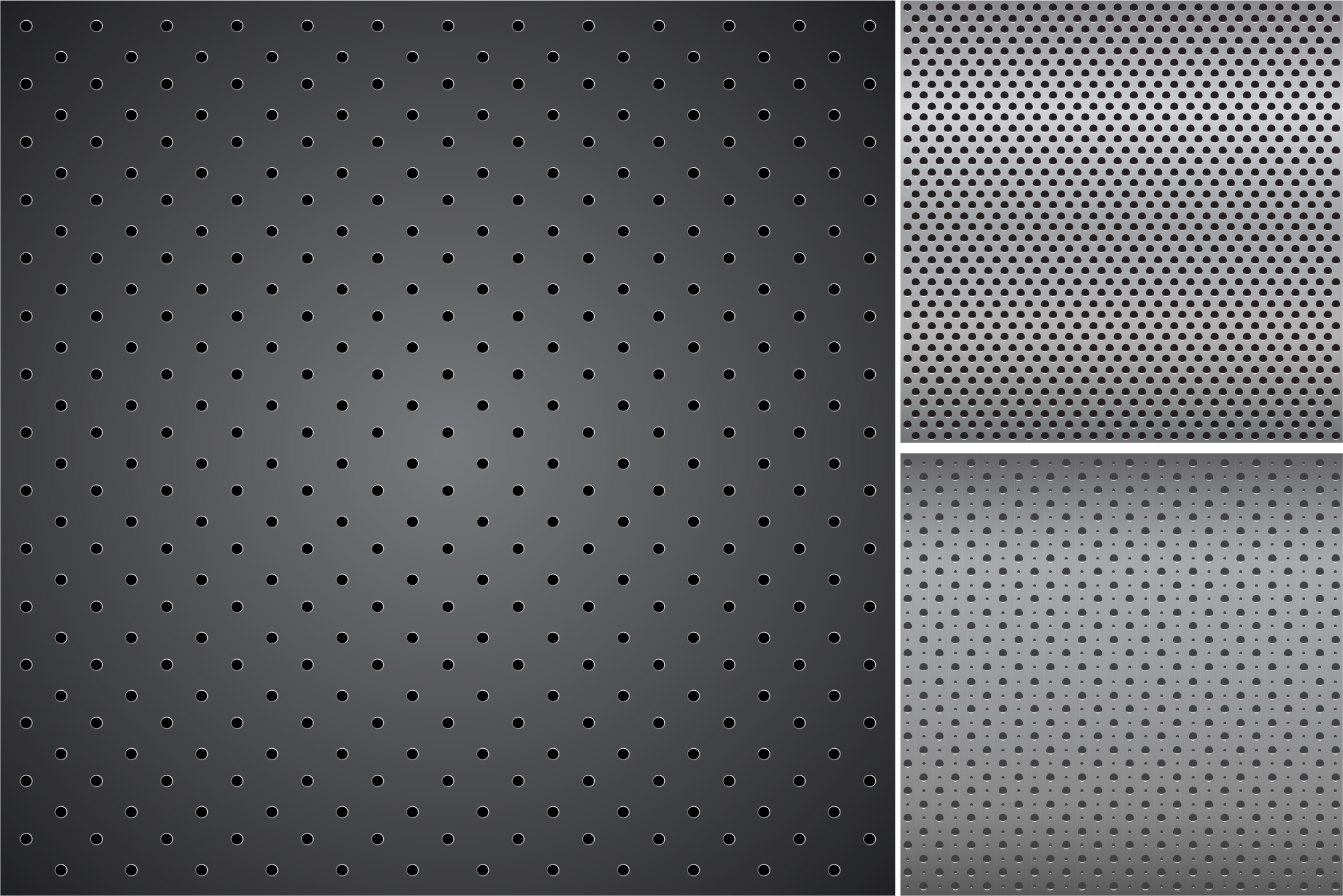 Metallic dark textures with holes. example image 8