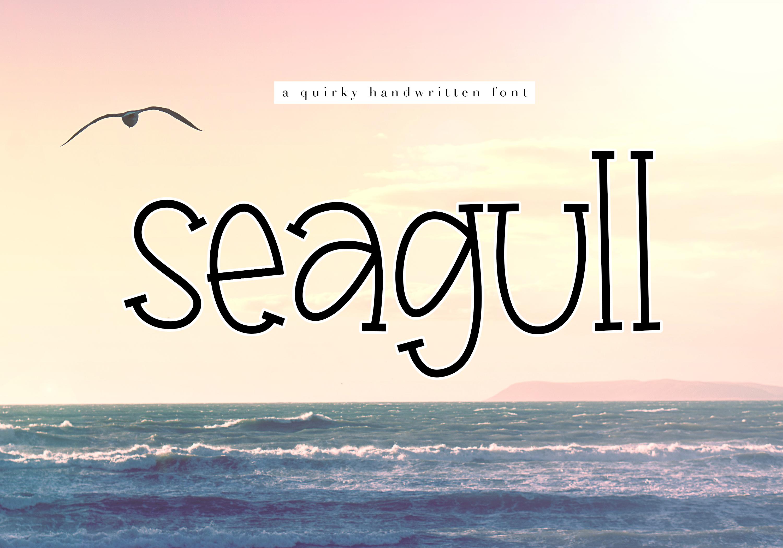 Seagull - A Fun Handwritten Font example image 1
